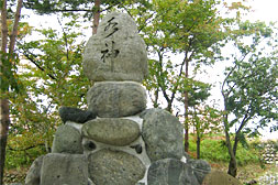 Monument of Kurobe River's Water God Geopoint