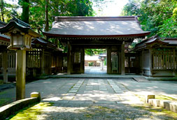 Oyama Shrine Geopoint